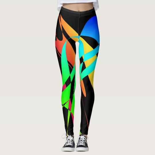 Spectrum Twist Designer Leggings by Julie Everhart