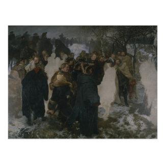 Speech before the Battle of Leuthen, 1858 Postcard