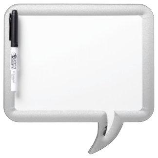 Speech Bubble Dry Erase Marker Board w/Pen
