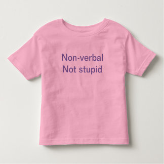 Speech disorder shirt