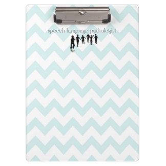 Speech Language Pathologist Clipboard