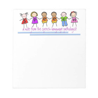 Speech-Language Pathologist's Notepad