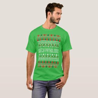 Speech Pathologist Ugly Christmas Sweater Tshirt