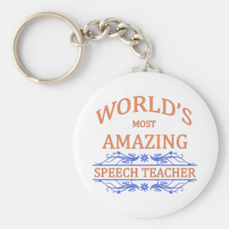 Speech Teacher Keychain