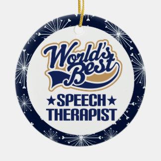 Speech Therapist Gift Ornament
