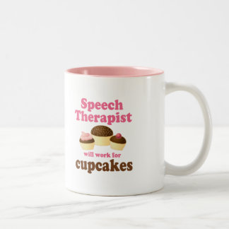 Speech therapist Two-Tone coffee mug