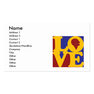 Speech Therapy Love Business Card Templates
