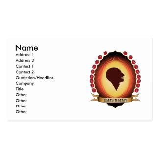 Speech Therapy Mandorla Business Card