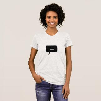 Speechless ! Funny Women's T-Shirt