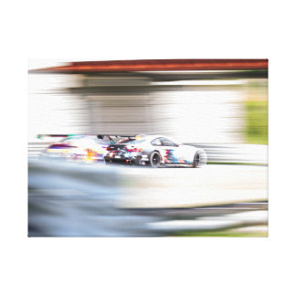 Speed Blur Canvas Print