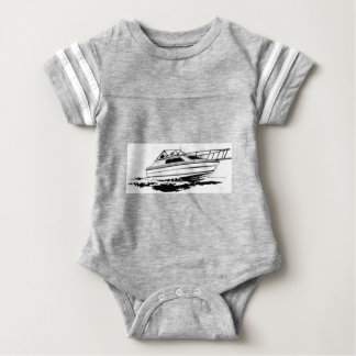 Speed Boat Cruiser Baby Bodysuit