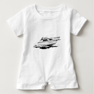 Speed Boat Cruiser Baby Romper