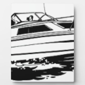 Speed Boat Cruiser Plaque
