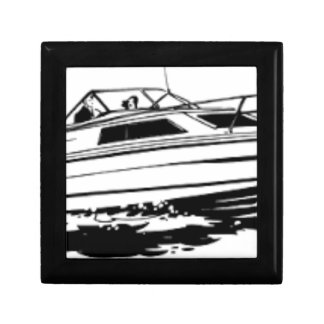 Speed Boat Cruiser Trinket Boxes
