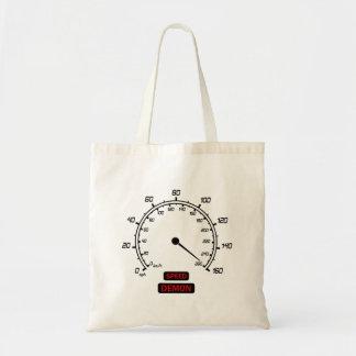Speed Demon Budget Tote Bag