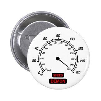 Speed Demon Pinback Buttons