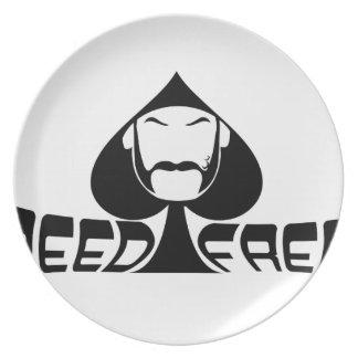 Speed Freak Party Plates