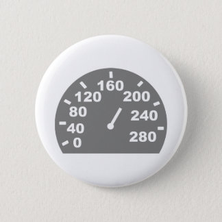 Speed indicator 2 inch round button