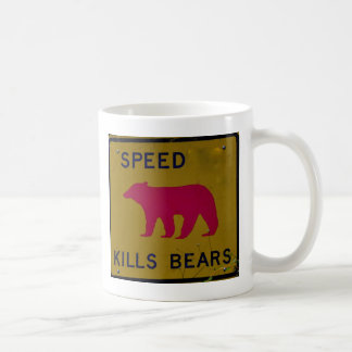 Speed Kills Bear Mug