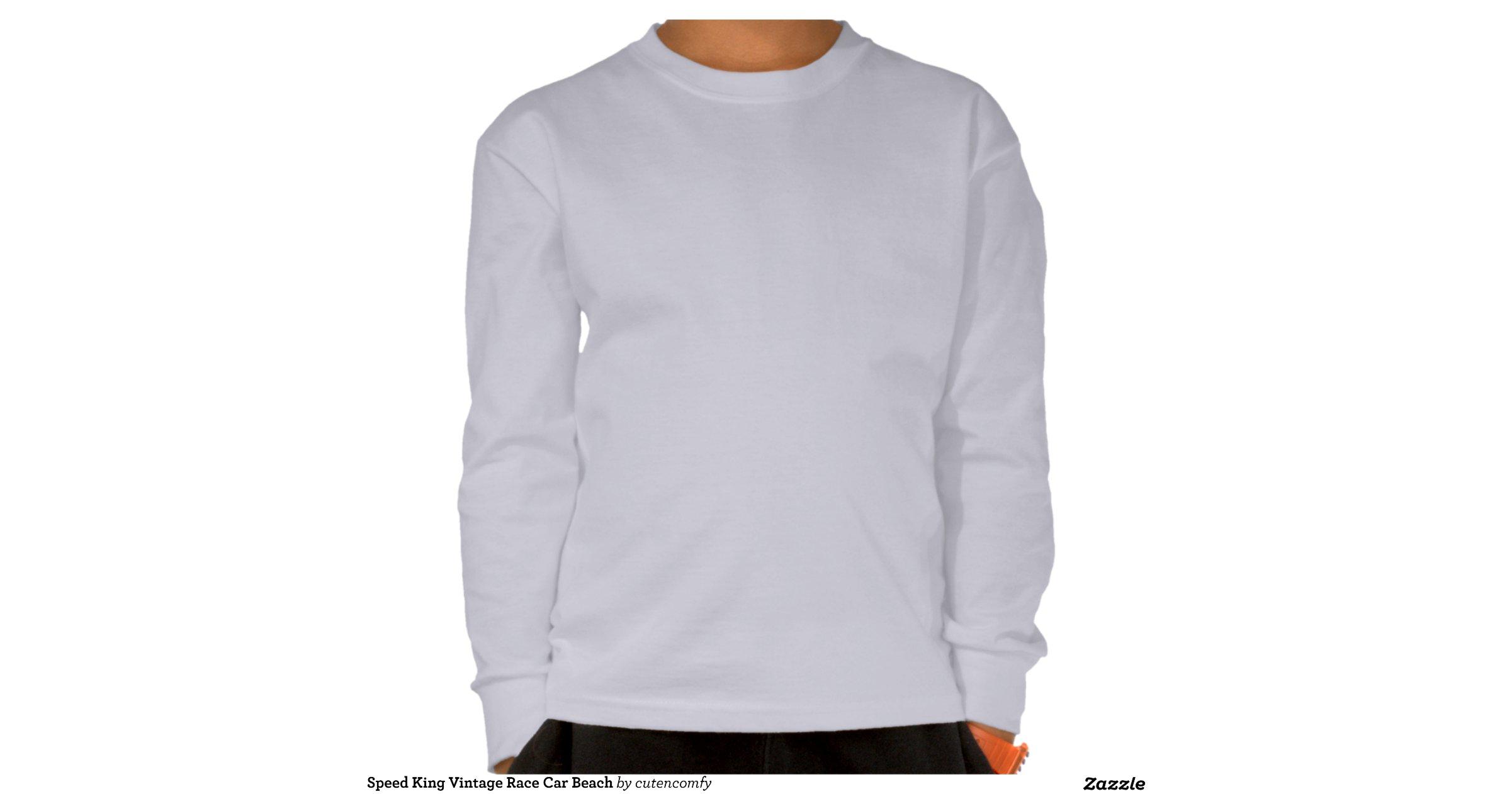 speed king vintage race car t shirts zazzle