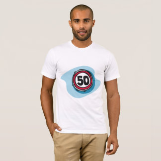 Speed Limit 50 Mens T-Shirt