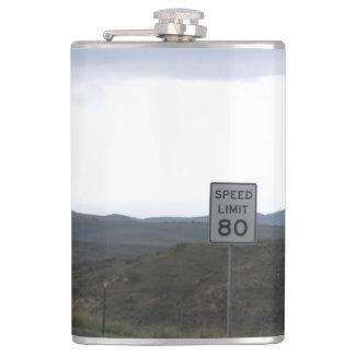 Speed Limit 80 Flask