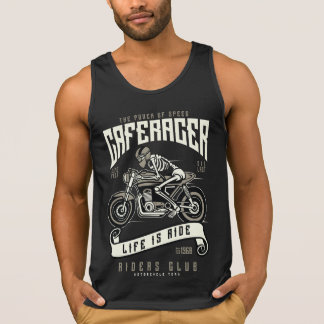 Speed of CafeRacer Men's Cotton Tank Top