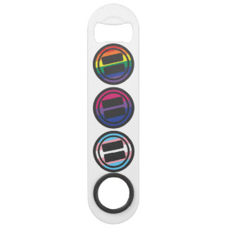 Speed Opener - LGBT, Bisexual, Transgender Round Bar Key