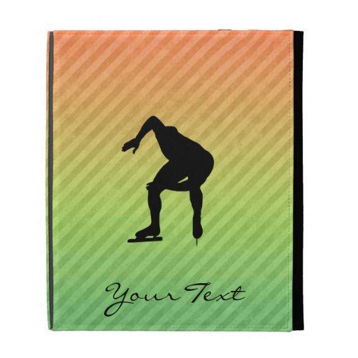 Speed Skater iPad Folio Covers