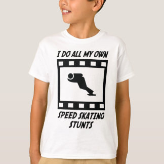 Speed Skating Stunts T-Shirt