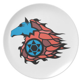SpeedHorse Dinner Plates