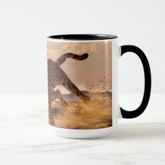 Speeding Cheetah Mug