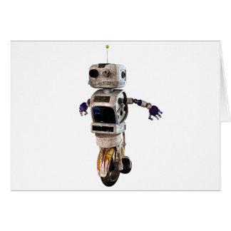Speeding Robot Cards