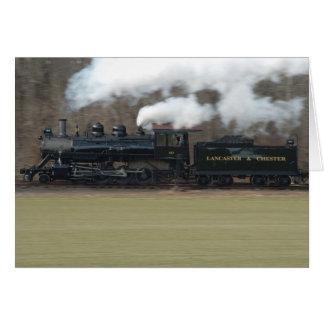 Speeding Train Card