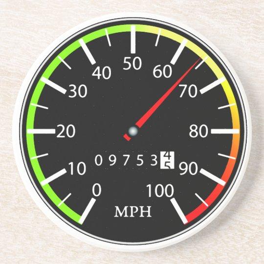 Speedometer Coaster