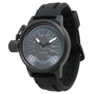 SPEEDOMETER FINISH FLAG Men's Crown Protector Blac Watch