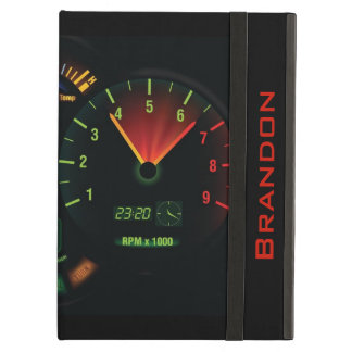 Speedometer/Odometer Design iPad Air Case