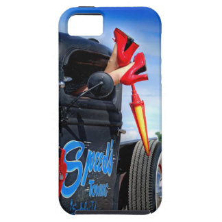 Speeds Towing Rat Rod Truck Rockabilly Betty Case For The iPhone 5