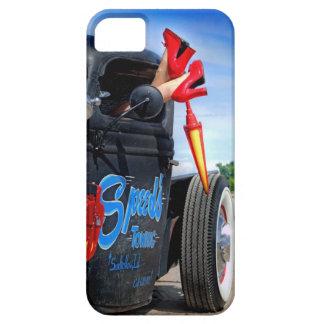 Speeds Towing Rat Rod Truck Rockabilly Betty iPhone 5 Cover