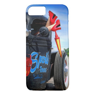 Speeds Towing Rat Rod Truck Rockabilly Betty Pinup iPhone 8/7 Case