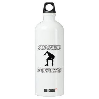 SPEEDSKATING designs SIGG Traveler 1.0L Water Bottle