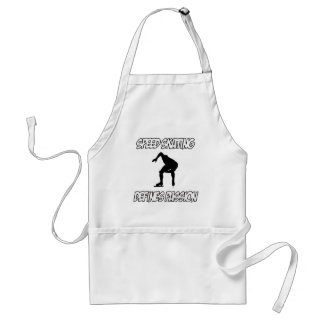 SPEEDSKATING designs Standard Apron