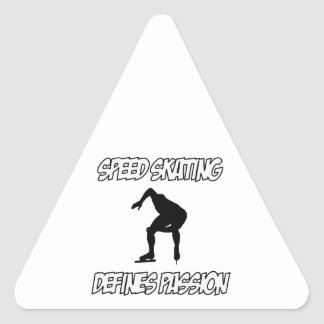 SPEEDSKATING designs Stickers