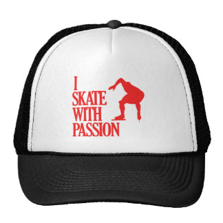 speedskating  sports designs trucker hat