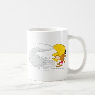 Speedy Gonzales Running in Color Coffee Mugs