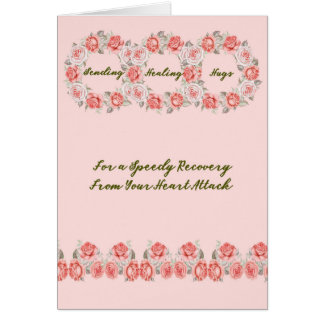 Speedy Recovery Card for a Heart Attack