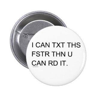 Speedy Texter 2 Inch Round Button