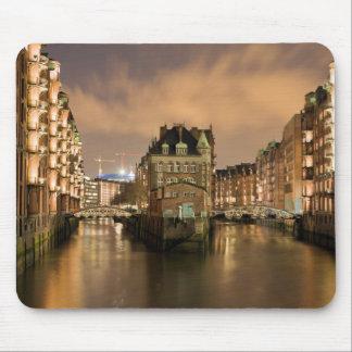 Speicherstadt, Hamburg Mouse Pad