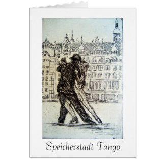 Speicherstadt Tango card