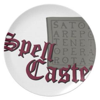 Spell Caster Plate